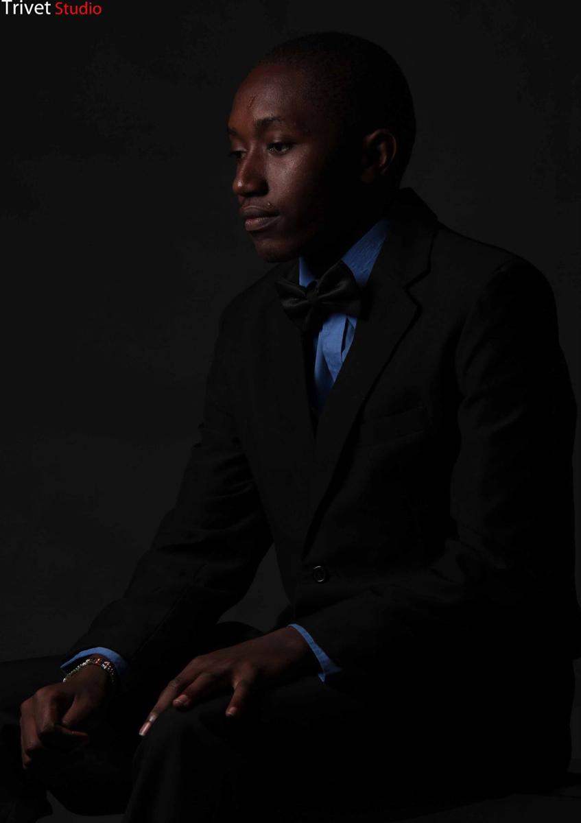 Eric Mshephard Mureithi Portraits By Antony Trivet