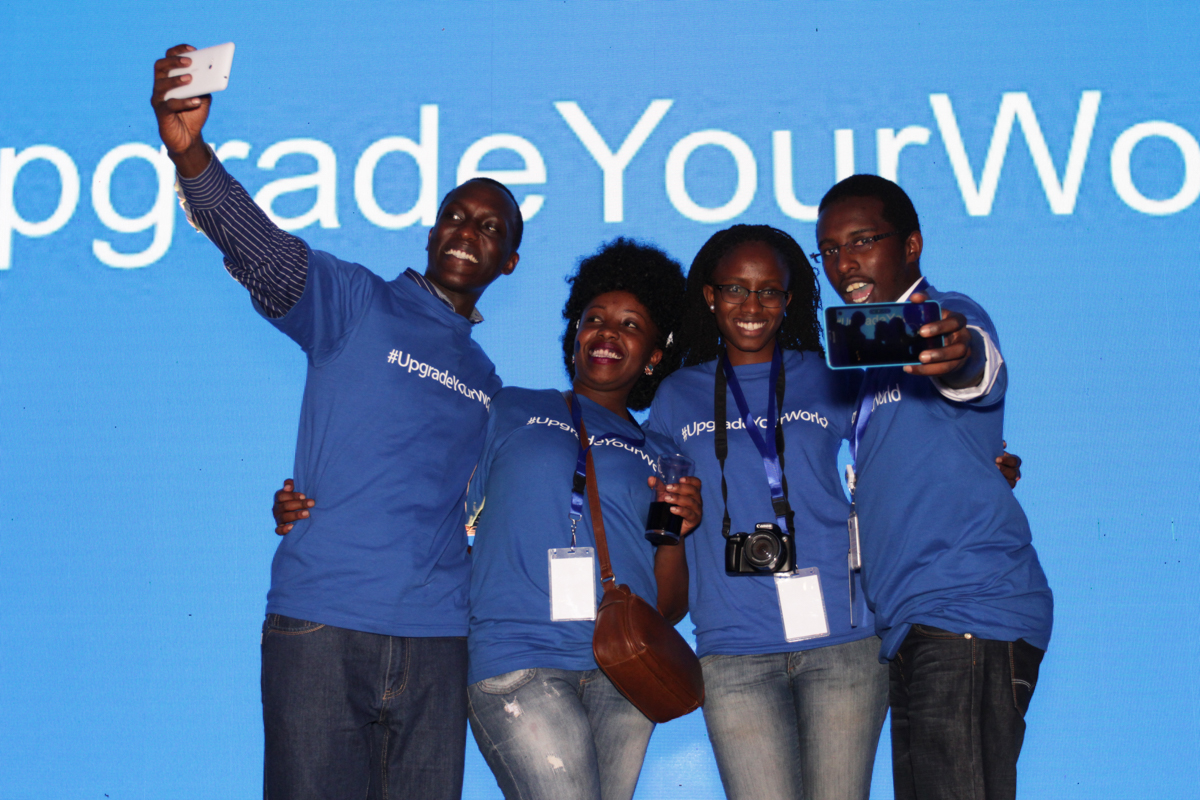 Microsoft CEO Satya Nadella Celebrated Global Launch Of Windows 10 In Nanyuki, Kenya