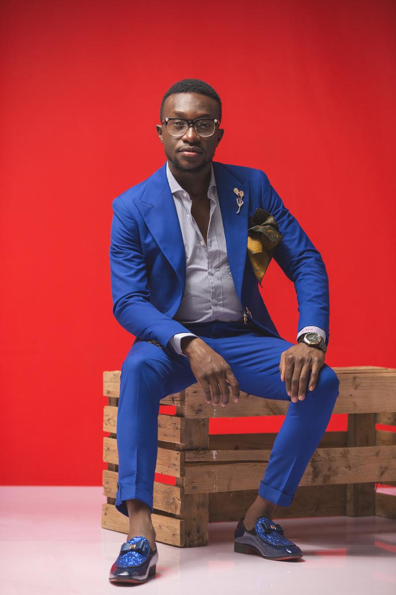 Austine Bolo Fashion Designer at Bespoke City Luxury Brand Kenyan Suits
