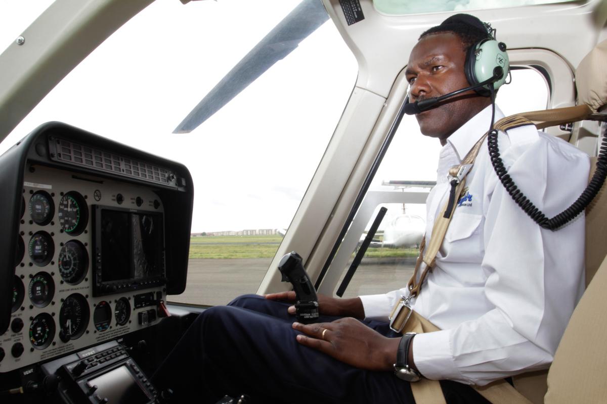Major Retired Pilot Solomon Nyanjui Wilson Airport Karen Langata Rd Nairobi