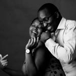 Eve & James Studio Session :: Kenyan Engagement Lifestyle Photography