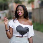 Denim & Cateye Diana Machira :: Kenya Lifestyle YouTube Vlogger