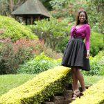 Diana Machira Blogger Fashion :: Sweaters X Skirts Denim & Cateye