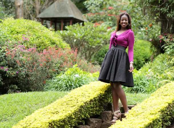 Kenyan Fashion Photographer :: Sweaters X Skirts Denim & Cateye