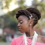 Diana Machira Creative Portraits :: Denim and Cateye Natural Hairstylist
