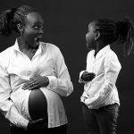 Creative Kenyan Studio Maternity :: Nairobi Baby Bump Portraits