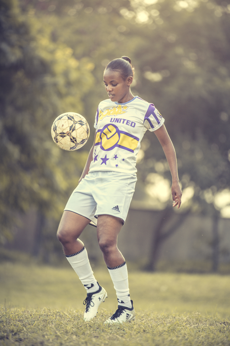 Shikaya Shiku _ Mary Wanjiku of Makolanders Ladies FC- Kenya Women Footballers