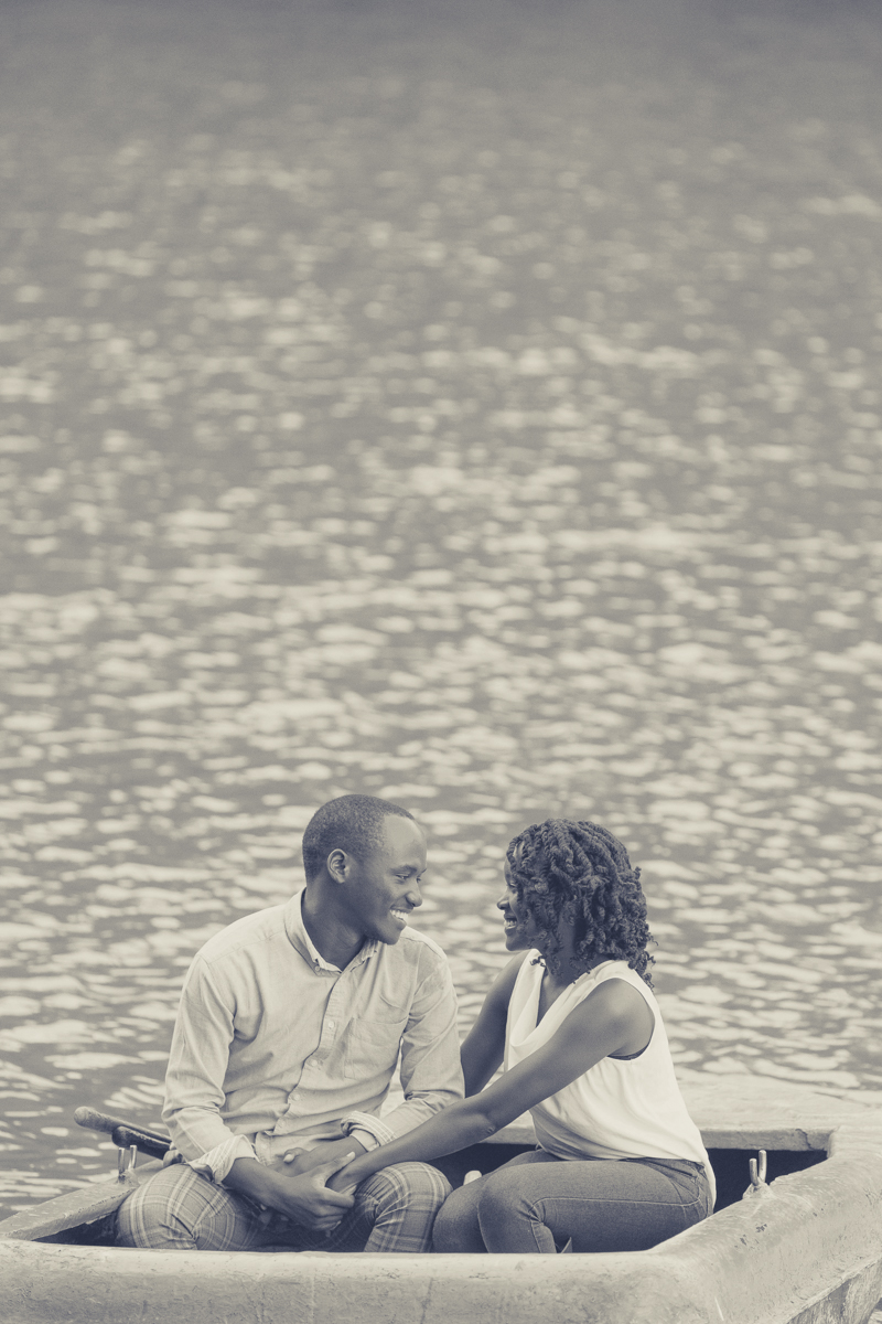 Ruth & Isaac Lovely Engagement boat ride by Antony Trivet Photography