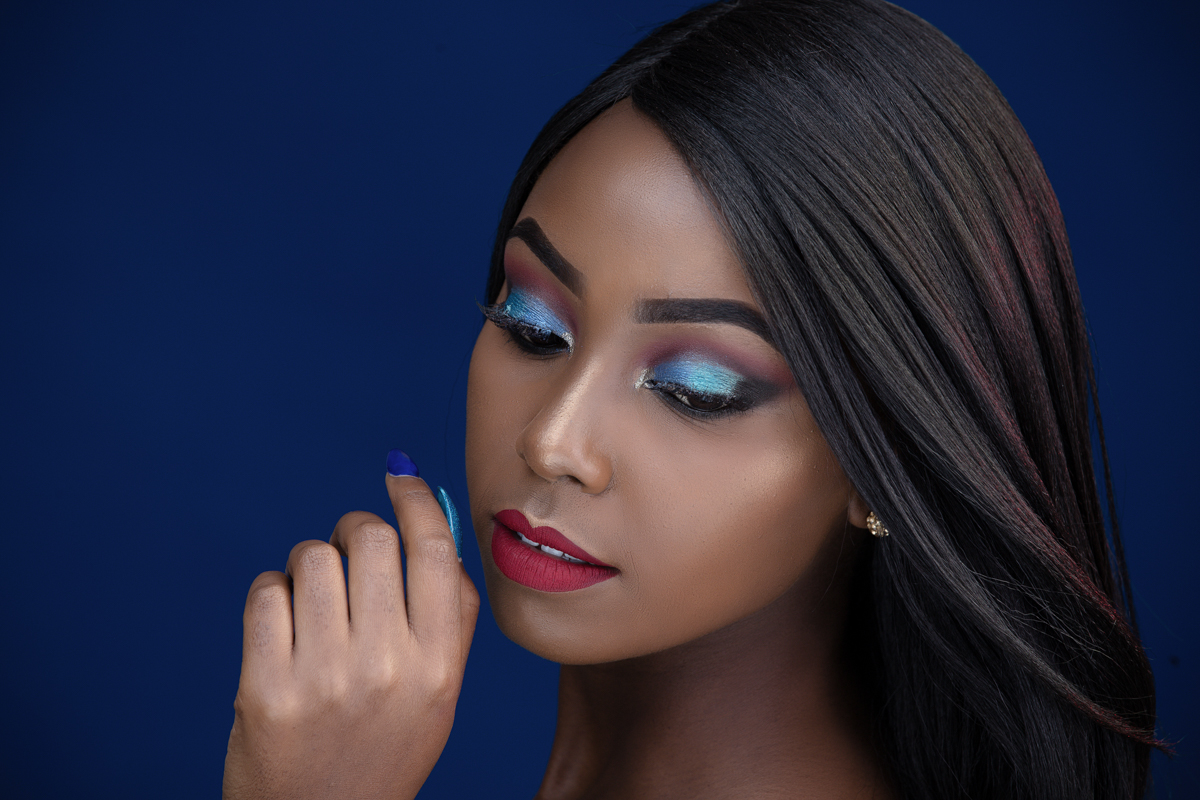 Beauty Photographers Kenya :: Nairobi Kenyan Makeup Artist Portraiture