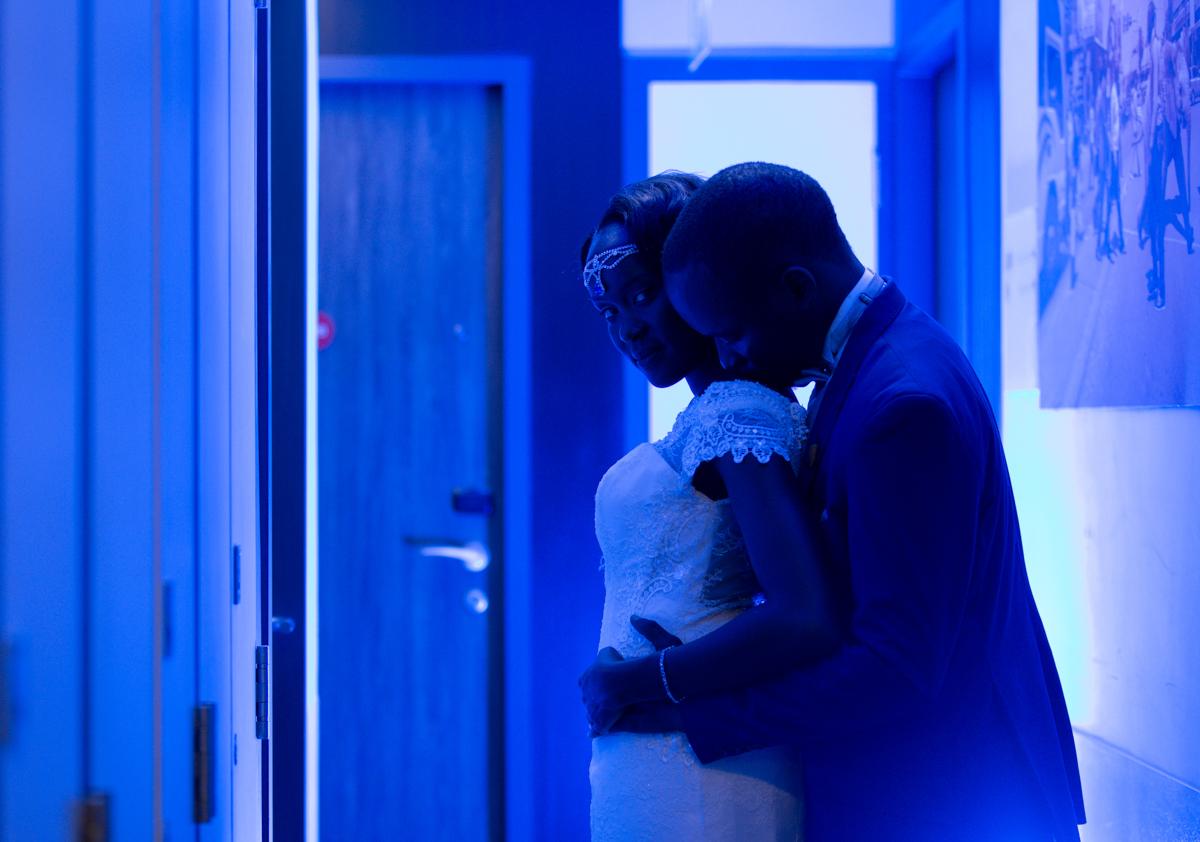 Evening Bride And Groom Photoshoot By Antony Trivet Weddings