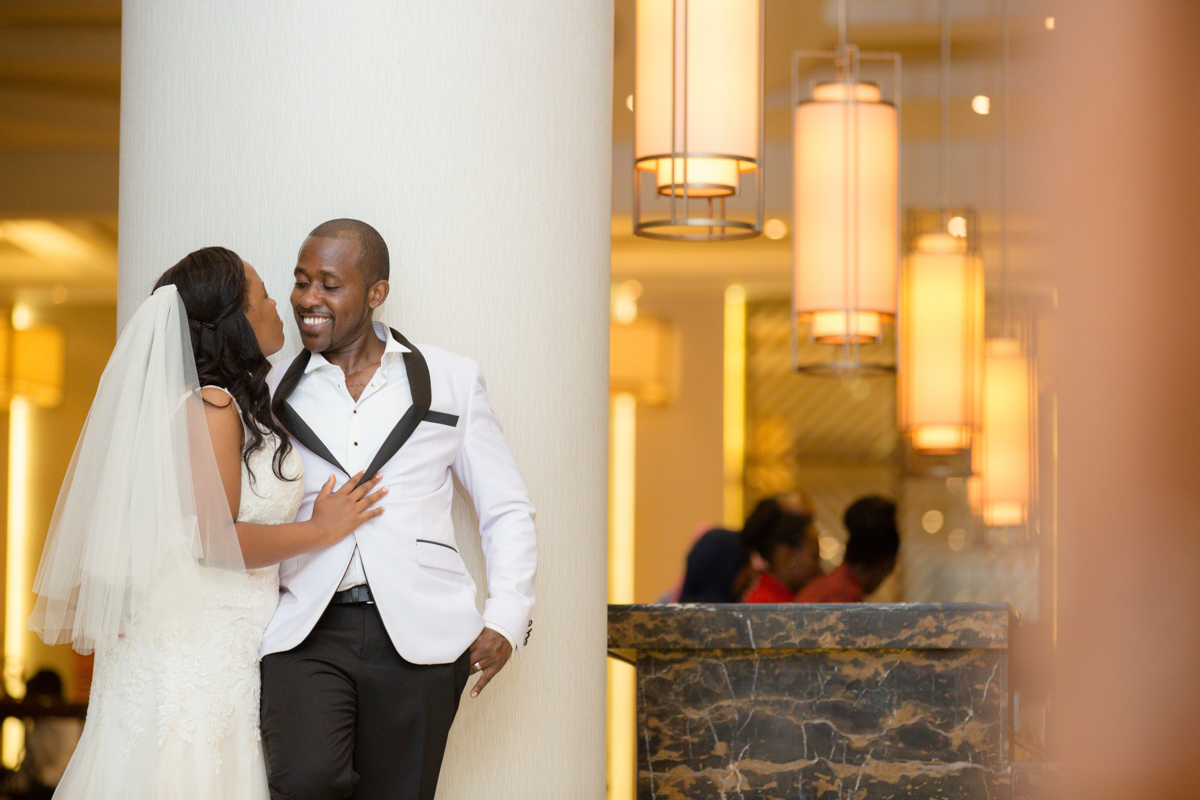 Linda & Martin Kihingo Village :: Zen Garden & Crowne Plaza Wedding