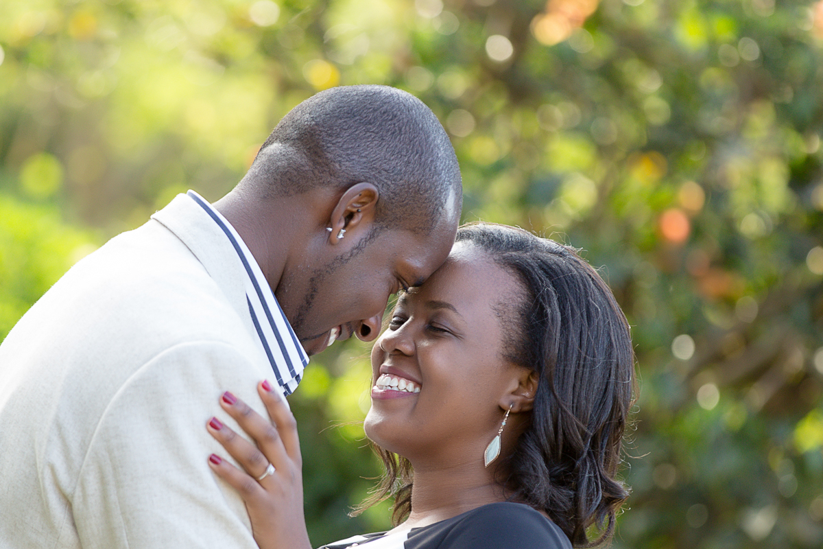 Linda & Martin Kihingo Village :: Nairobi Kenya Engagement Session