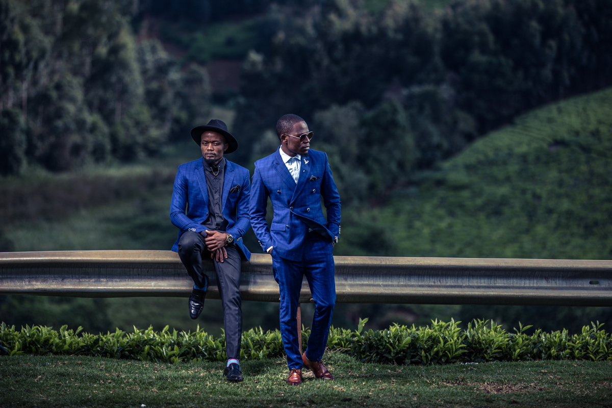 Sox Kenya & Let's Luxs :: Kenyan Fashion Men Photographers