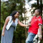 Christine & Alex Kenyan Engagement :: Zereniti House Gardens Limuru