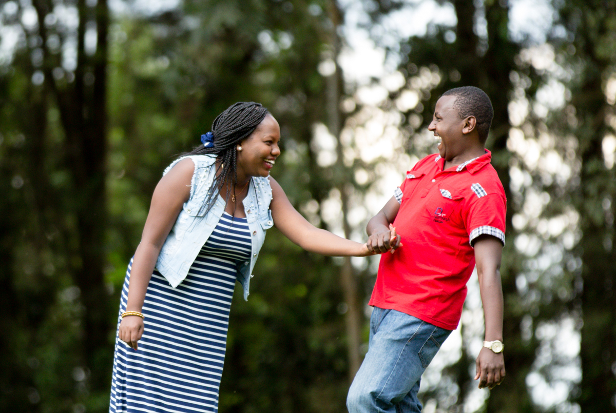 Alex & Christine :: Zereniti House Nairobi Kenya Engagement
