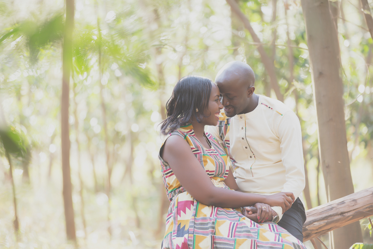 Martha & Churchill :: Karura Forest Nairobi Kenya Engagement