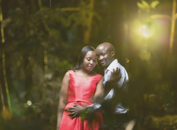 Martha & Churchill :: Karura Forest Nairobi Kenya Engagement