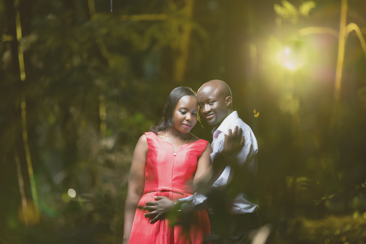 Martha & Churchill Beautiful Engagement :: Karura Forest Nairobi Kenya