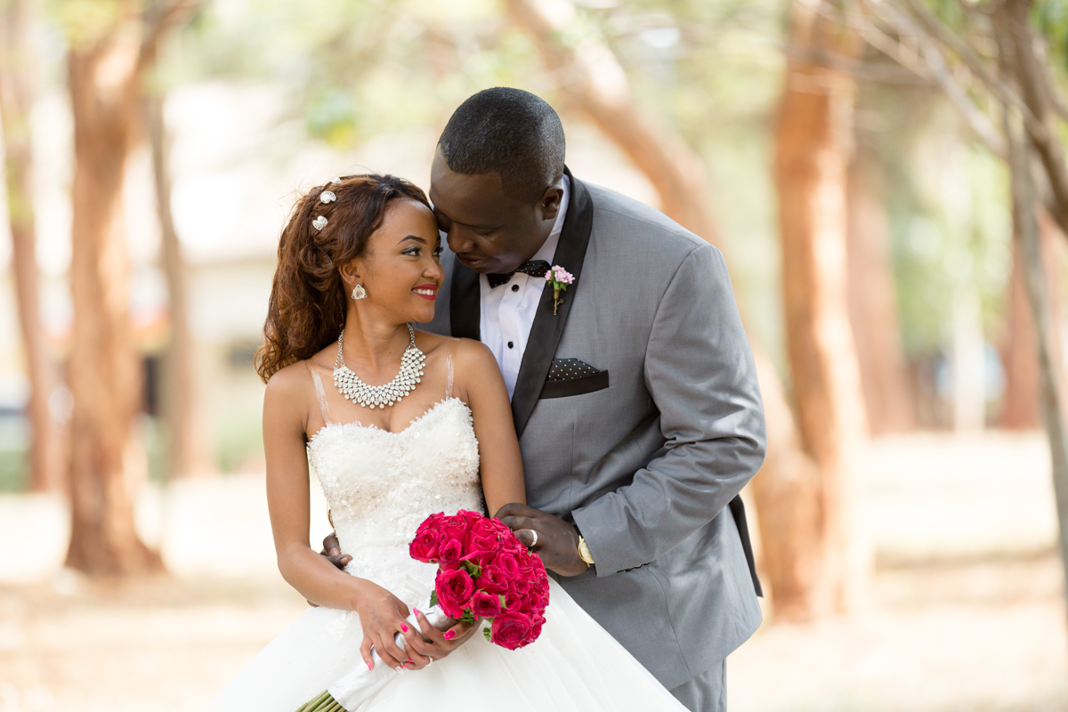 Sally & Charles :: Kenya Institute of Special Education Wedding
