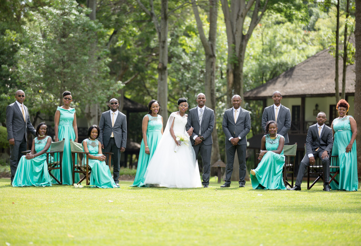 Helen & Victor :: Safari Park Hotel Nairobi Kenyan Wedding Photos