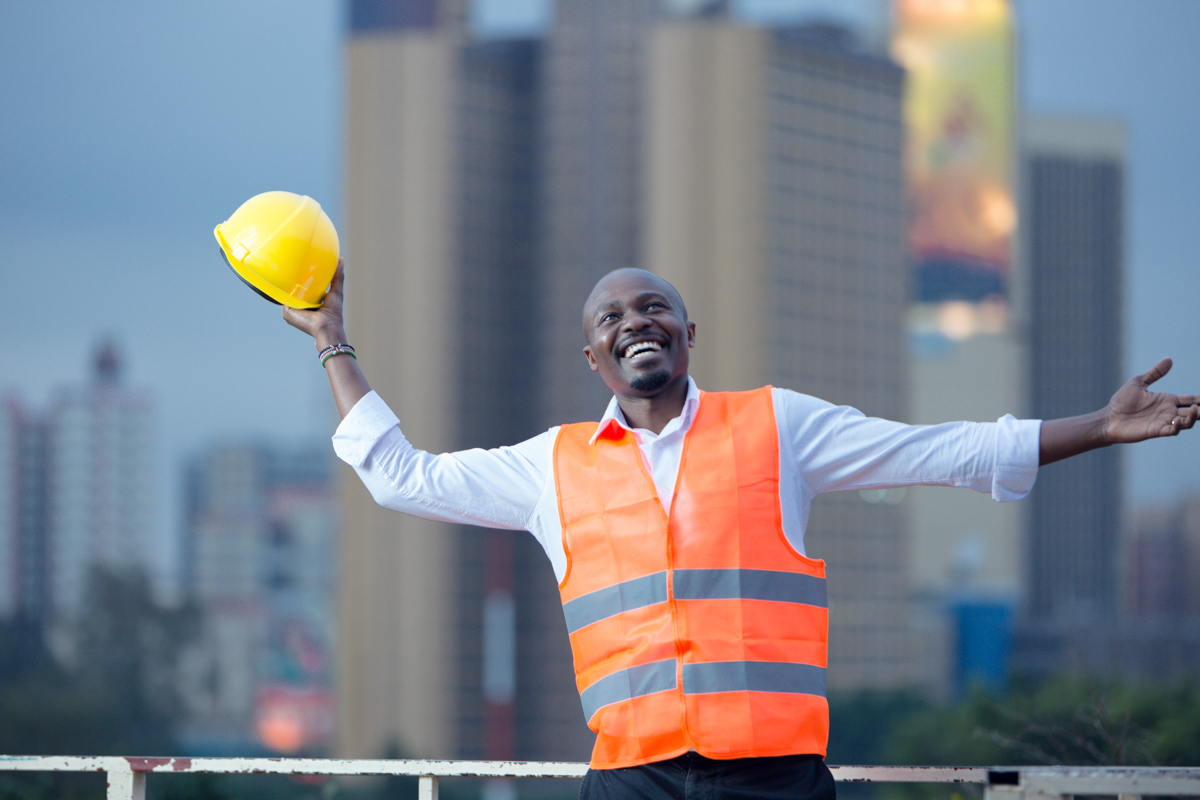 Georeg Adulu The Housing Guy :: Kenyan Corporate photographers