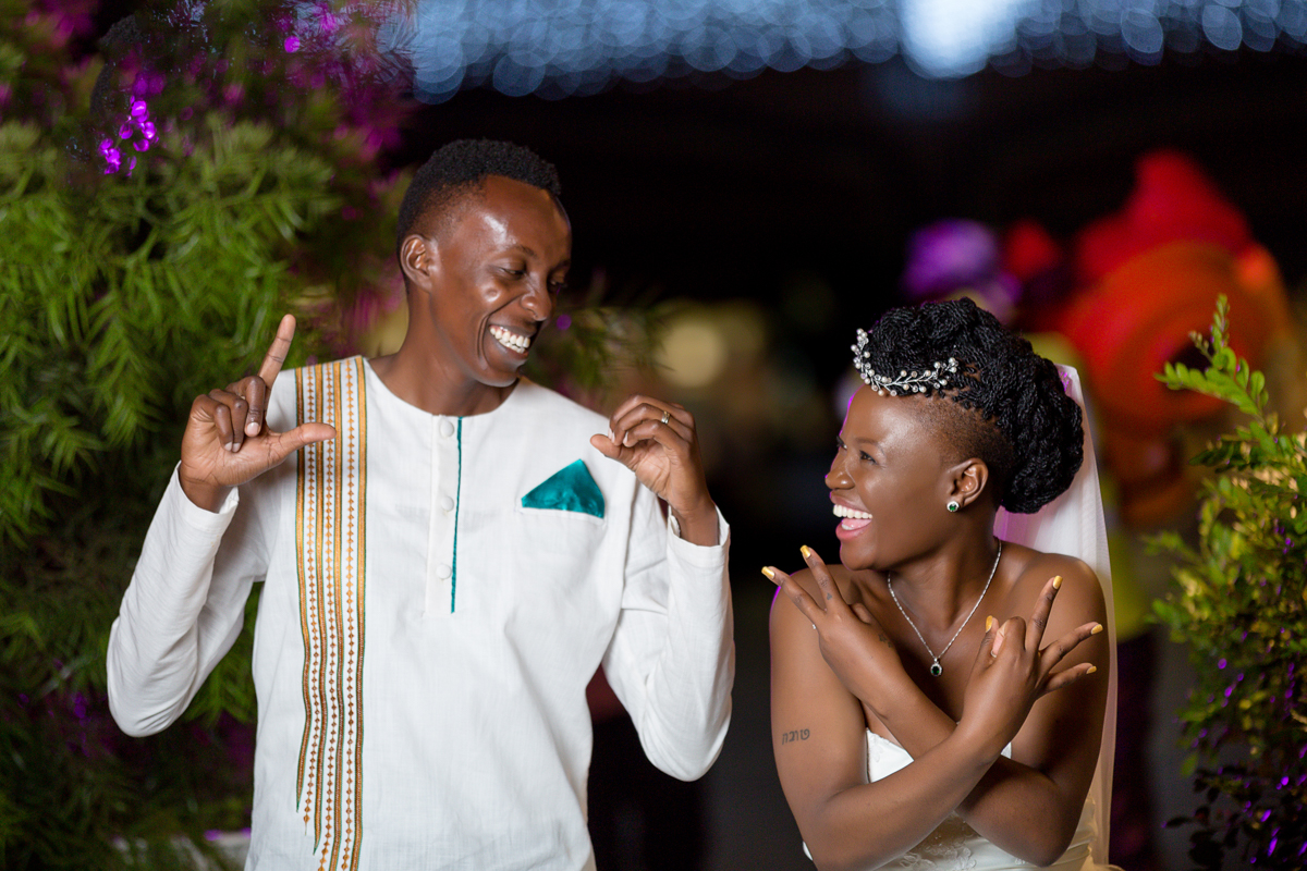 Christine & Kenneth :: Langata Botanical Gardens & The Hub Karen Mall
