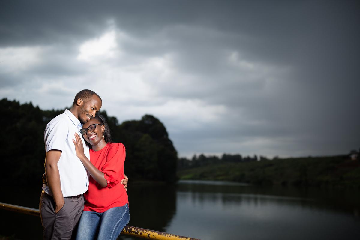 Wanja & Bonface :: Paradise Lost Kiambu Kenyan Engagement Photos