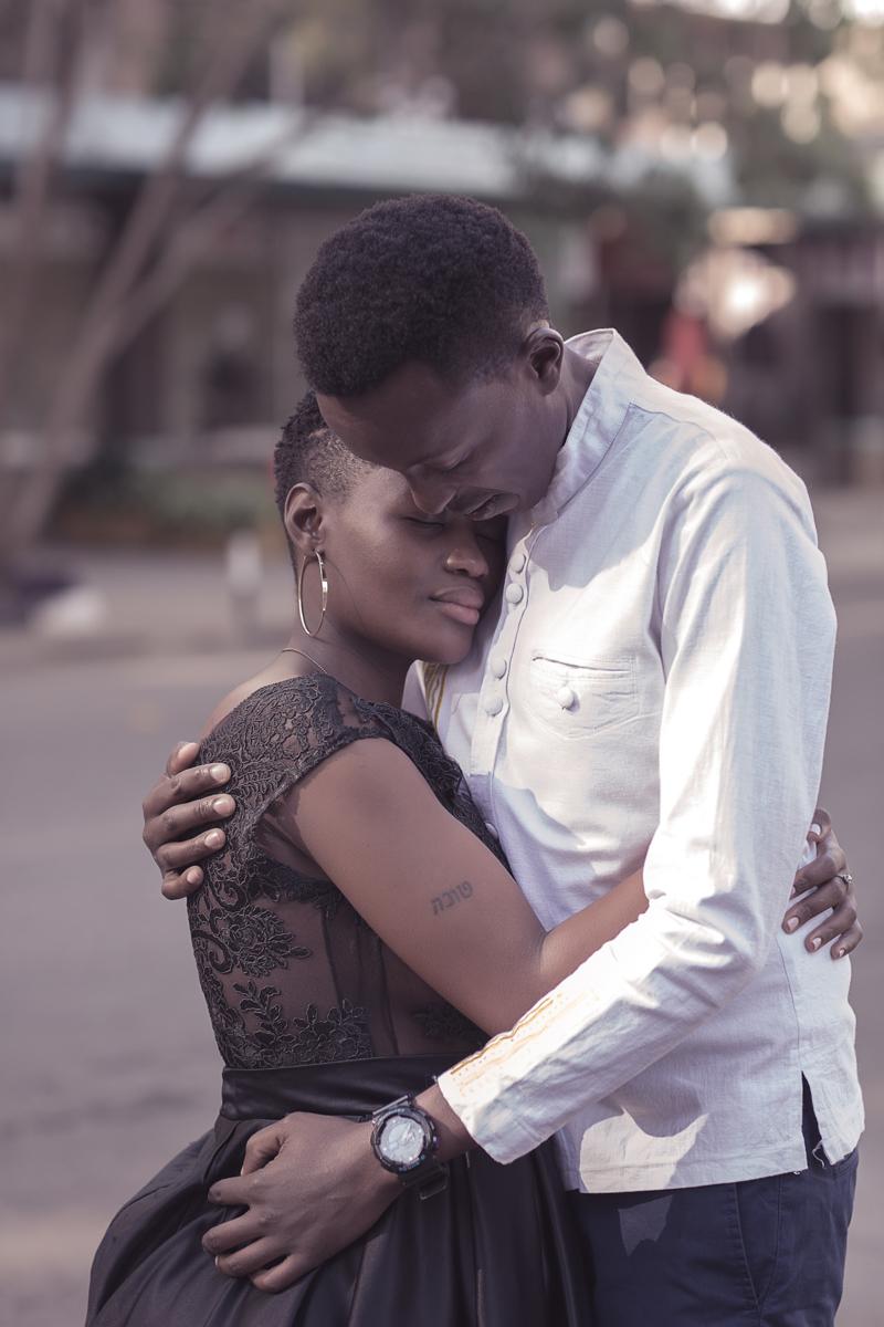 Christine & Kenneth Nairobi City :: Uhuru Park Viewpoint Photography