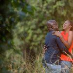 Theresa & Anthony :: Nairobi Arboretum Kenyan Engagement Images