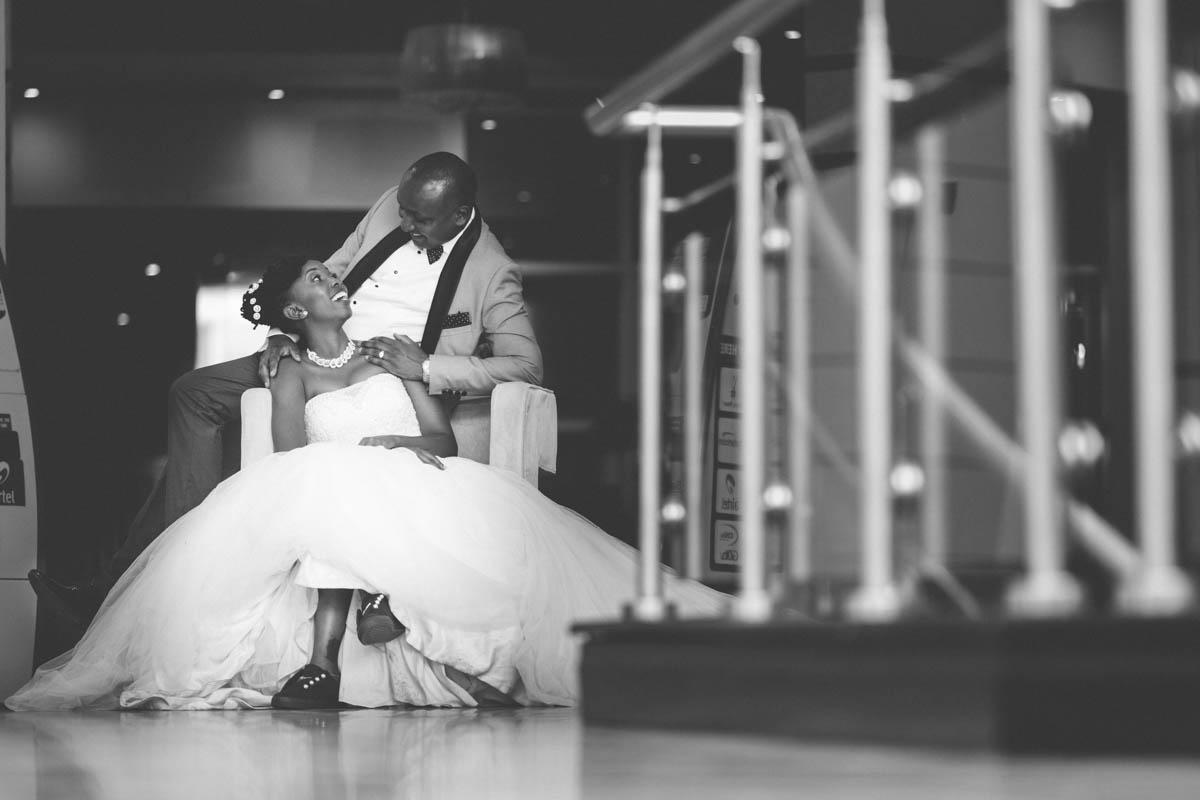 Geraldine & Kamau :: Boma Inn Hotel & Don Bosco Catholic Church