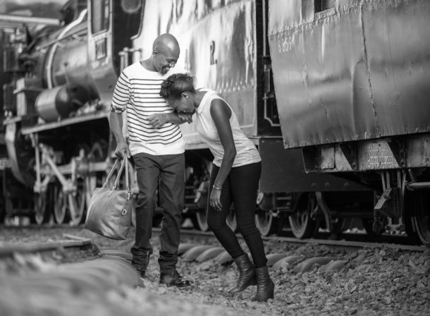Barbara & Amos Engagement :: Nairobi Railway Museum Images