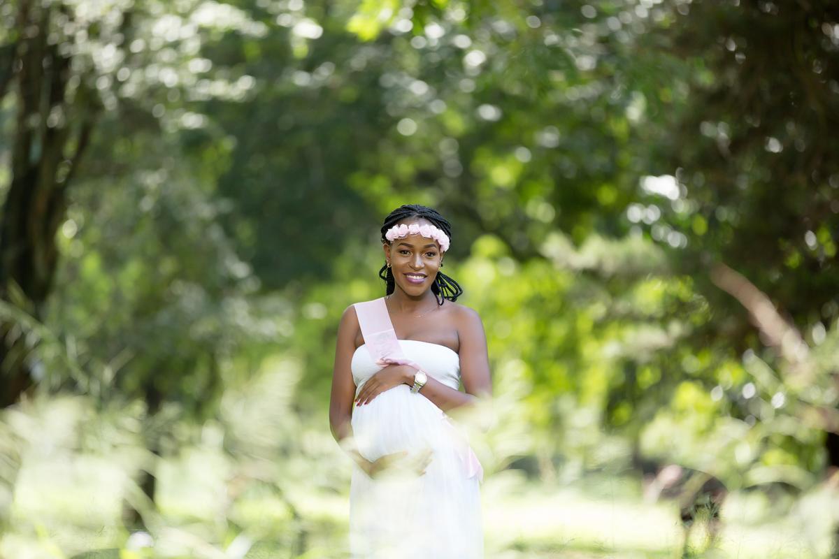 Kenyan Maternity Portraiture Images