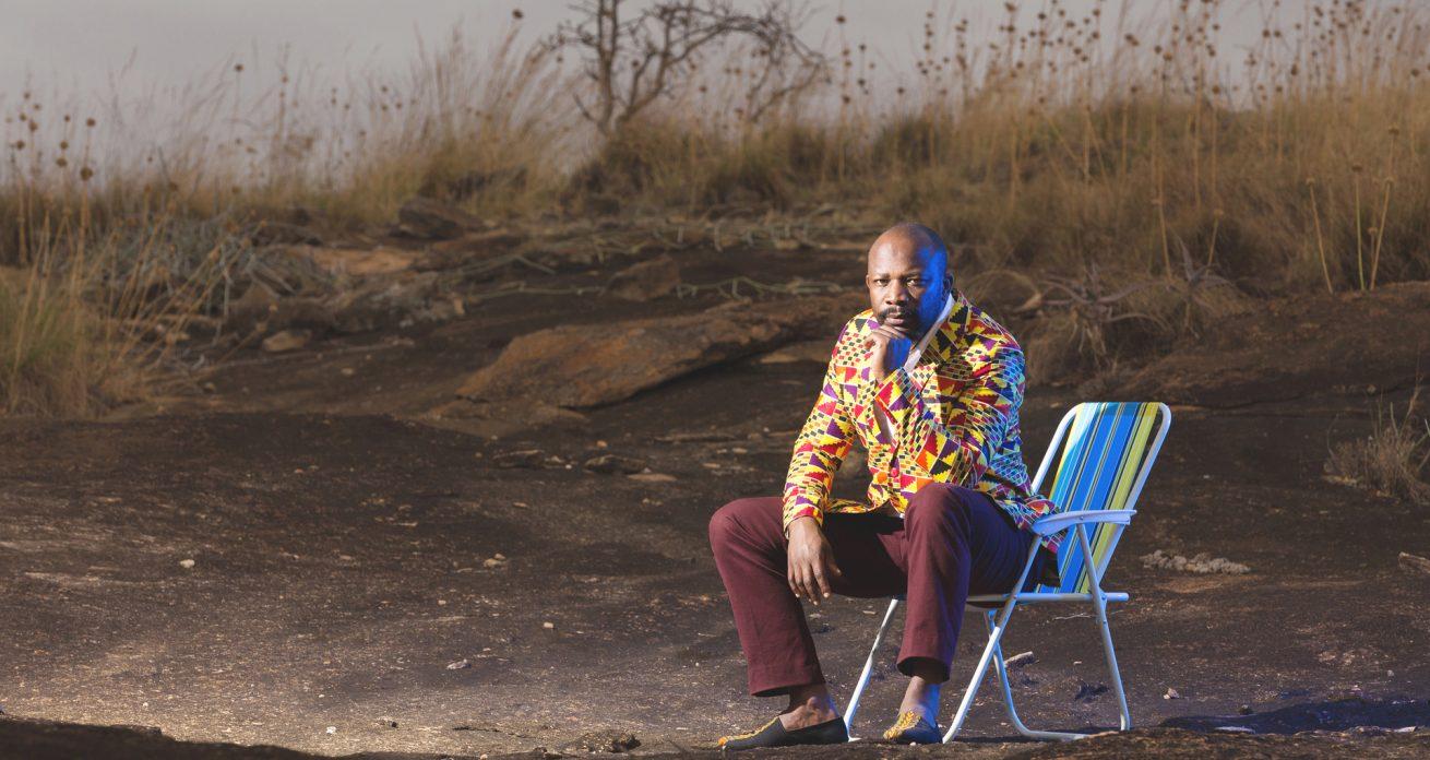 Larry Asego Portraits At The Lukenya Hills By Antony Trivet