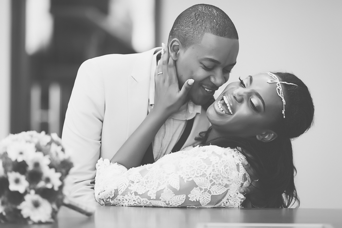 Vernessa & Jimmy :: Tamarind Tree Hotel Nairobi Stylish & Romantic