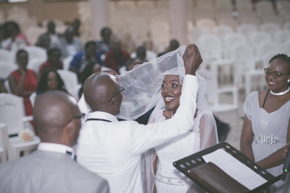 Joan & Antony church ceremony at Ridgeways Baptist Church Lane, Nairobi