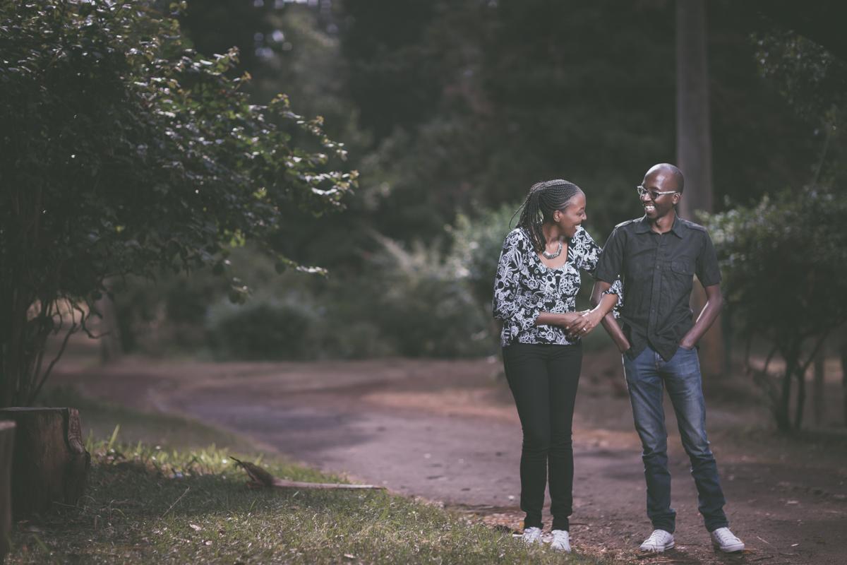 Classic Fun Intimate Engagement :: The Nairobi Arboretum Kilimani Road