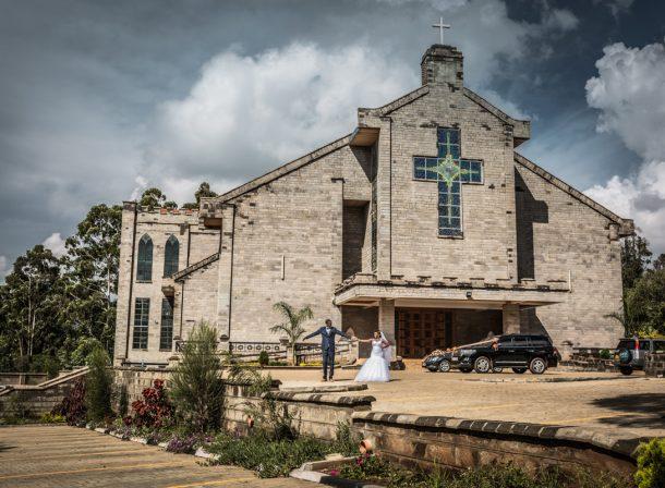 Celia & Paul Natere Gardens :: Kenyan Uganda Wedding Photography