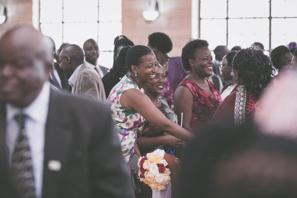 Celia & Paul at St Francis Church Karen Boyani Rd, Nairobi Kenya