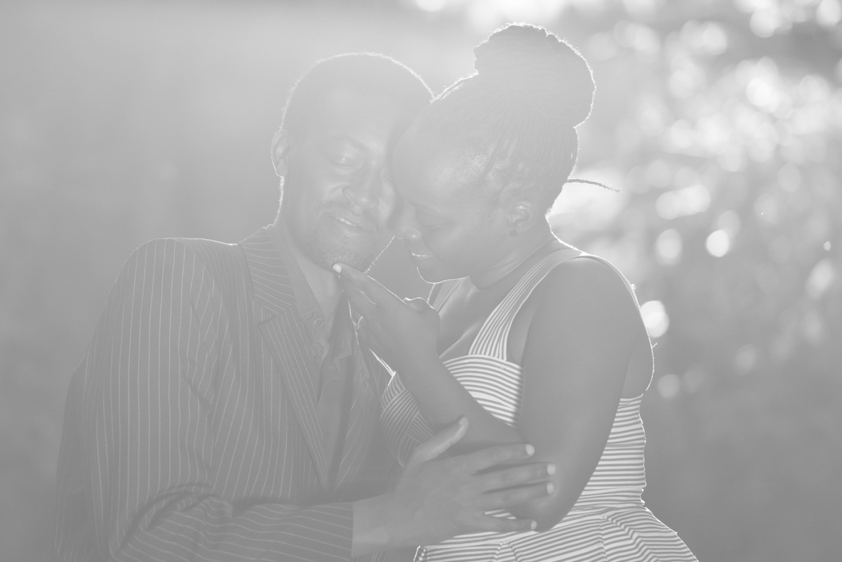 Celia & Paul :: Karura Forest Nature Walk Engagement Photo Session