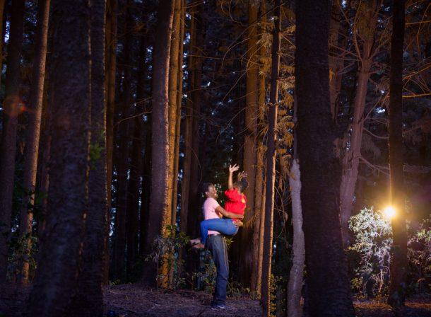 Celia & Paul :: Karura Forest Nature Walk Engagement Photo Session