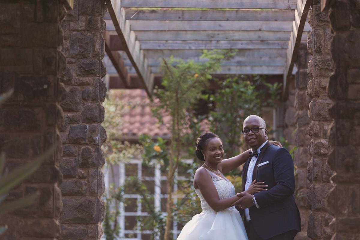 Yvonne & Charles :: Marula Manor Complex Karen Wedding Images