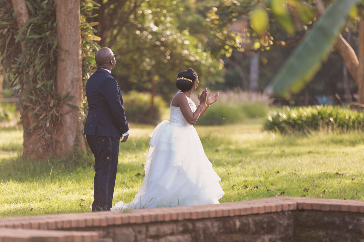 Yvonne & Charles :: Marula Manor Complex Karen Wedding Images