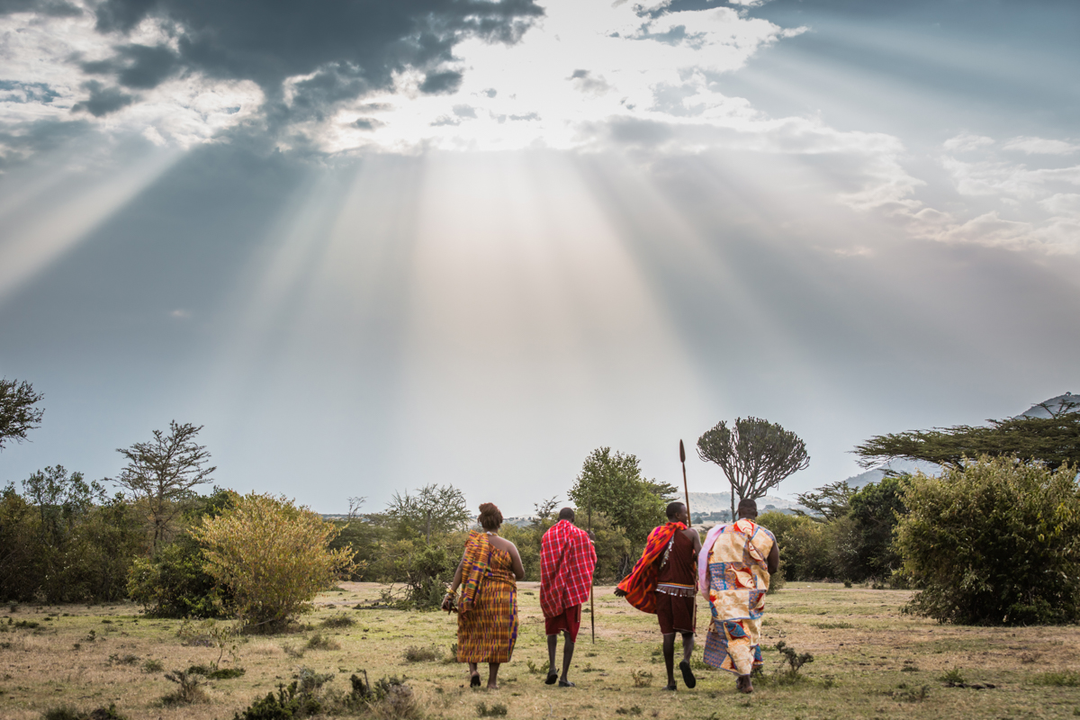 Winnie & Mawuli :: Simba Oryx Nature Camp Maasai Mara Kenya Ghana Engaged
