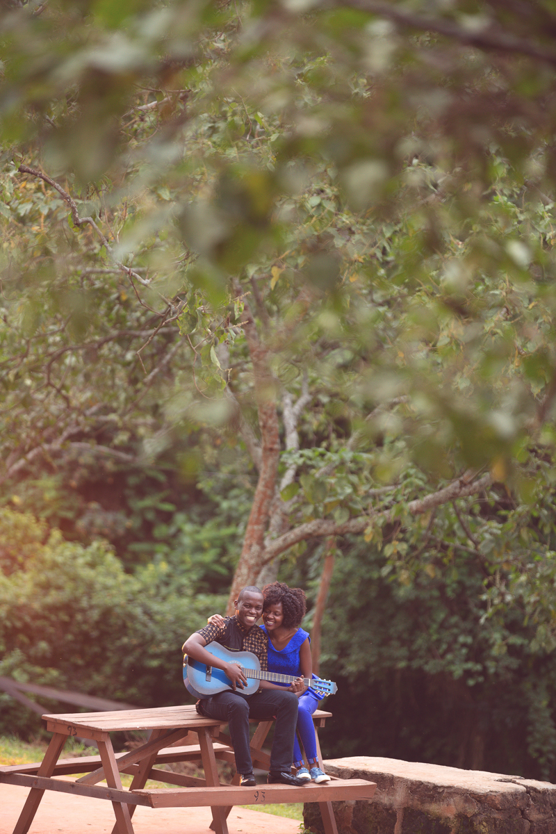 John & Irene :: Paradise Lost Park Engagement Photography Session