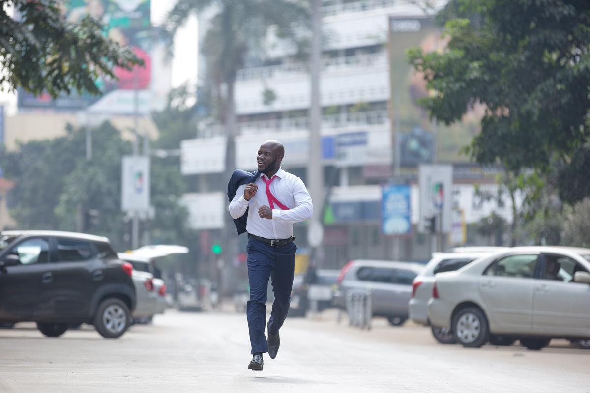 Isaya Evans Kenya Actor Portraits by Antony Trivet