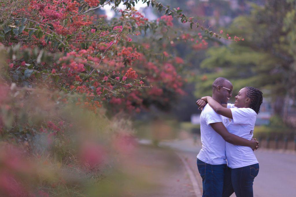 Catherine & Simon Nairobi Street :: Uhuru Park Kenyan Engagements