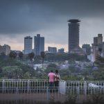 Catherine & Simon Nairobi Streets :: Uhuru Park Viewpoint Engagements