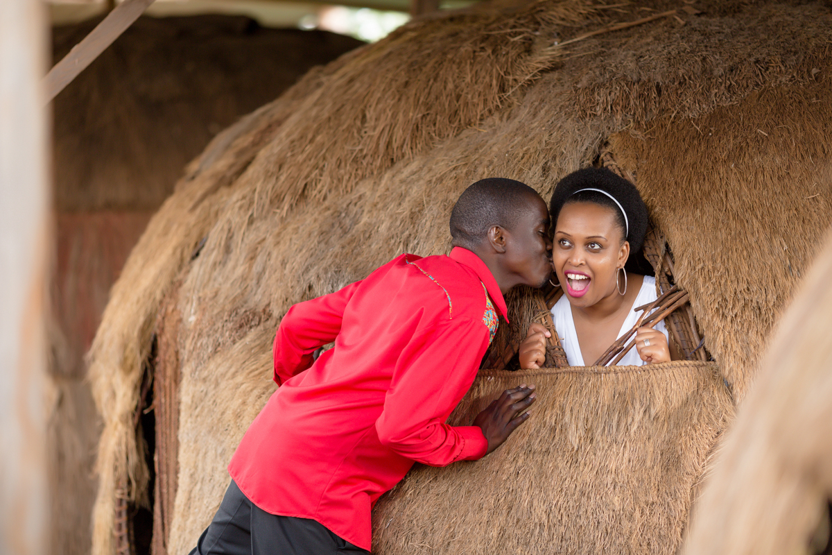 Marion & Kevin :: Feel Sight Sound Sweet Bomas Of Kenya Engagement