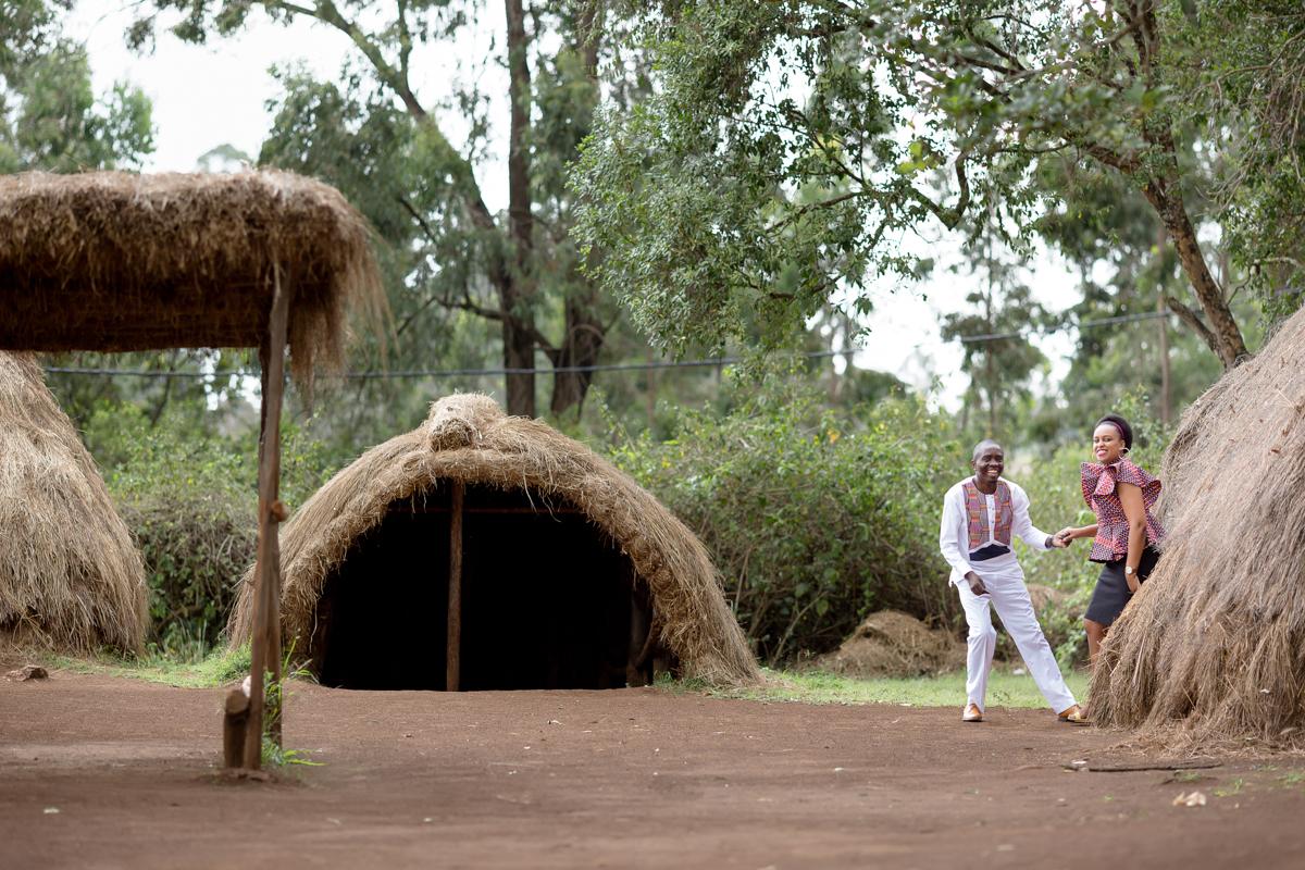Marion & Kevin Nairobi Engaments