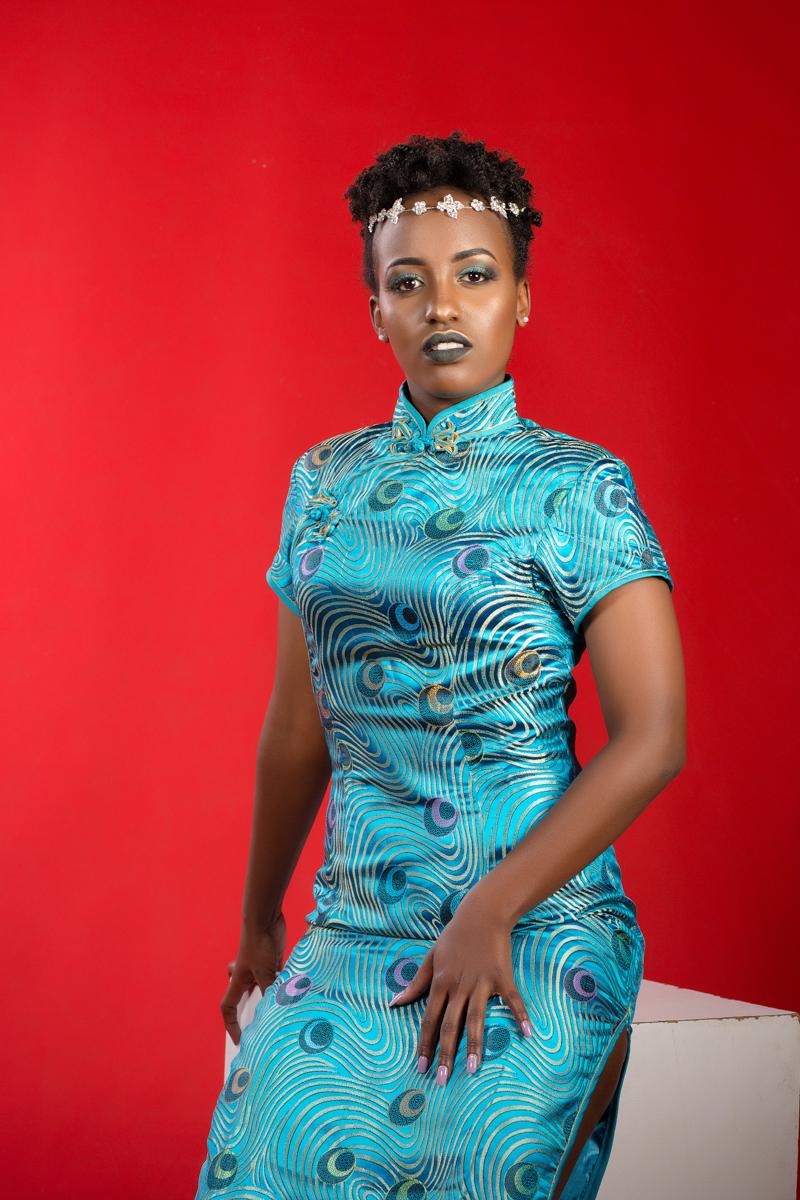 Sylvia Marie Glams Cynthia :: Flower Beauty Kenyan Portraits